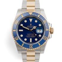 Rolex Submariner Date Gold/Steel 40mm Blue