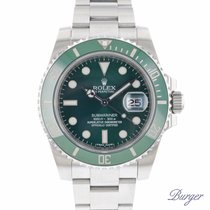 Rolex 116610LV Stål 2010 Submariner Date 40mm begagnad