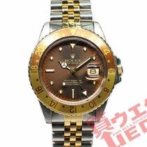 Rolex GMT-Master Acero y oro 40mm Marrón