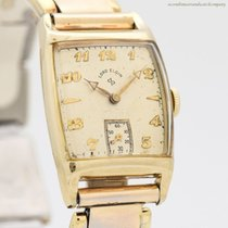 Elgin Yellow gold 24mm Manual winding pre-owned