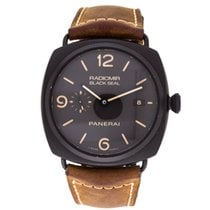Panerai Radiomir Black Seal 3 Days Automatic Ceramic 45mm Brown Arabic numerals United States of America, California, Los Angeles