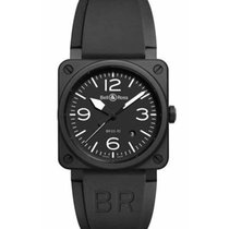 Bell & Ross BR 03-92 Ceramic new 2019 Automatic Watch with original box and original papers BR0392-BL-CE