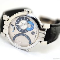 Harry Winston White gold 39mm Manual winding 200/MMTZ39WWC.W pre-owned