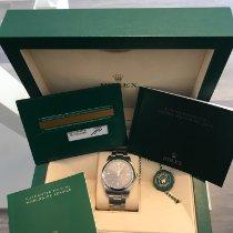 Rolex Oyster Perpetual 39 Stahl 39mm Grau Keine Ziffern Deutschland, Tann