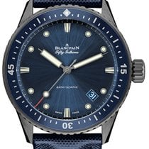 Blancpain Fifty Fathoms Bathyscaphe new Automatic Watch with original box and original papers 5000-0240-052A