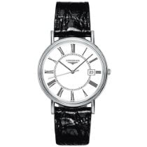 Longines Présence Steel 38mm White Roman numerals United States of America, New York, New York