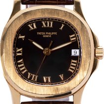Patek Philippe Yellow gold Automatic 34mm pre-owned Aquanaut