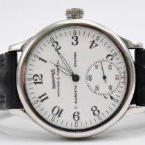 Eberhard & Co. Traversetolo Steel 43mm White Arabic numerals