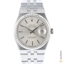 Rolex Datejust Oysterquartz Gold/Steel 36mm Silver
