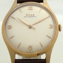 Doxa Doxa Vintage 14 K Gold - Serviced & Warranty 1950 new