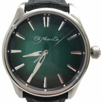 H.Moser & Cie. new Automatic Display back 42.8mm Steel Sapphire crystal