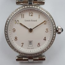 Louis Erard Romance Steel 30mm Arabic numerals