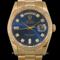 Rolex Day-Date 36 Or jaune 36mm Nacre France, Paris