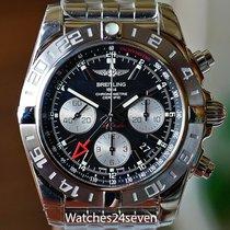 Breitling Chronomat 44 GMT Veldig bra Stål Automatisk