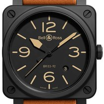 Bell & Ross Steel Automatic 42mm new BR 03-92 Ceramic