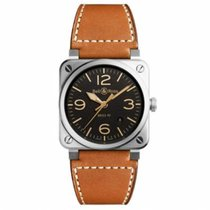 Bell & Ross Acero 42mm Automático BR0392-ST-G-HE/SCA nuevo