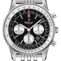 Breitling Navitimer 1 B01 Chronograph 43 Steel 43mm Black United States of America, California, Moorpark