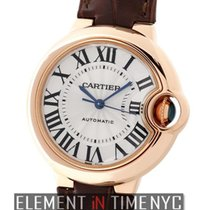 Cartier Ballon Bleu 33mm W6920097 новые