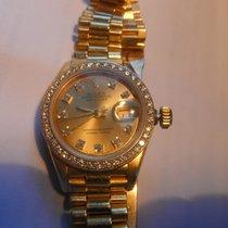 Rolex 69178 Gelbgold 1988 Lady-Datejust 26mm gebraucht Deutschland, Nottuln
