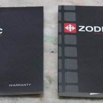 Zodiac vintage complete kit papers booklet and warranty card...