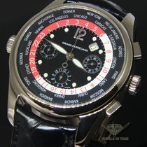 Girard Perregaux ww.tc World Timer Chronograph 18k White Gold...