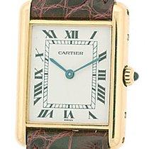 "Cartier Louis Cartier ""Classic Tank""."