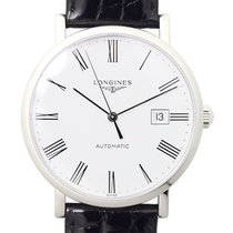 Longines Elegant Stainless Steel White Automatic L4.910.4.11.2