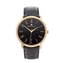 Maurice Lacroix Les Classiques 18k Rose Gold Gents LC6007-PG10...
