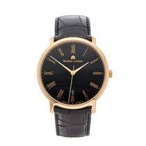 Maurice Lacroix 38mm Automatic 2014 pre-owned Les Classiques Tradition Black