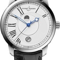 Ulysse Nardin Classico Luna Steel 40mm White United States of America, New York, Airmont