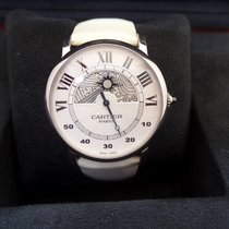 Cartier Rotonde de Cartier gebraucht 43.5mm Weißgold
