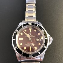 Rolex Submariner 1680, tropical brown dial, red, meters first