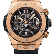 Hublot Rose gold Automatic Arabic numerals 45mm new Big Bang Unico