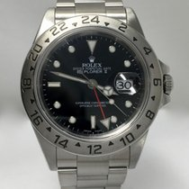 Rolex Explorer II Stainless Steel Black Dial 16570 MINT