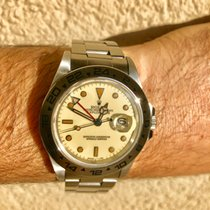 Rolex Explorer II. 16550 with perfect rare Creme Dial from 1984