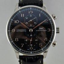 IWC Portuguese Chronograph usato 41mm Acciaio