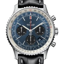 Breitling AB0121211C1P1 Steel 2020 Navitimer 1 B01 Chronograph 43 43mm new