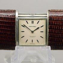 Movado Horloge tweedehands 1950 Staal 48mm Geen cijfers Handopwind Alleen het horloge