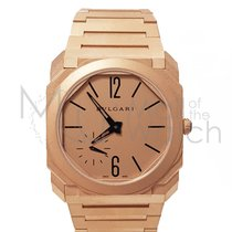Bulgari Rose gold 40mm Automatic B-102912 new