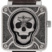 Bell & Ross BR 01-92 pre-owned 46mm Black Buckle