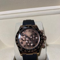 Rolex Rose gold Automatic Brown 40mm pre-owned Daytona