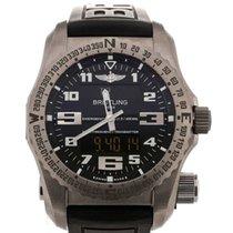 Breitling Emergency new 2019 Quartz Chronograph Watch with original box and original papers E76325I1/BC02/156S/E20DSA.2