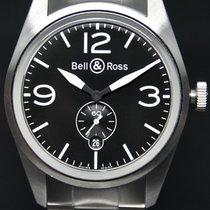 Bell & Ross neu Automatik 41mm Stahl Saphirglas