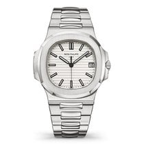 Patek Philippe pre-owned Automatic 40mm White Sapphire Glass 10 ATM