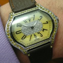 DeLaCour 37mm City Limited Edition No499 White & Yellow Diamonds pre-owned