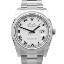 Rolex Datejust Сталь 36mm Белый
