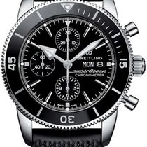 Breitling Superocean Héritage II Chronographe new 2019 Automatic Chronograph Watch with original box and original papers A13313121B1S1