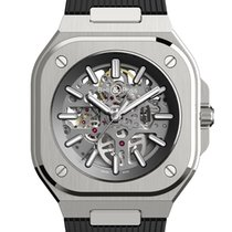 Bell & Ross BR 05 Steel 40mm Transparent No numerals