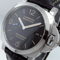 Panerai Luminor Marina 1950 3 Days Automatic Сталь 44mm Чёрный