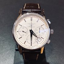 Longines Column-Wheel Chronograph Steel 39mm Silver